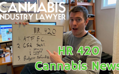 HR -420 – Regulate Cannabis Like Alcohol Bill – Rep. Blumenauer