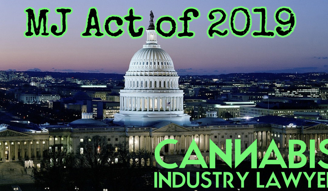 The Marijuana Justice Act of 2019