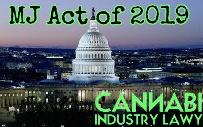 The Marijuana Justice Act of 2019