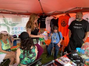 Seattle Hempfest 2019 - Prisoners Volunteers