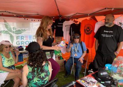 Seattle Hempfest 2019 - Falemaʻi mai Volunteers