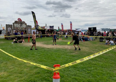 Ultimate frizbi Seattle Hempfest 2019