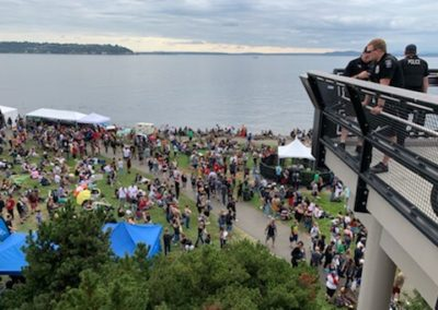 Seattle Hempfest 2019 - gužva