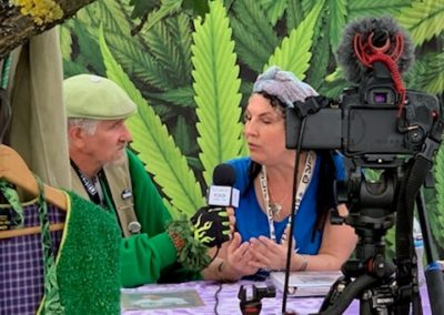 Jeff Eichen Interviews Hempfest 2019