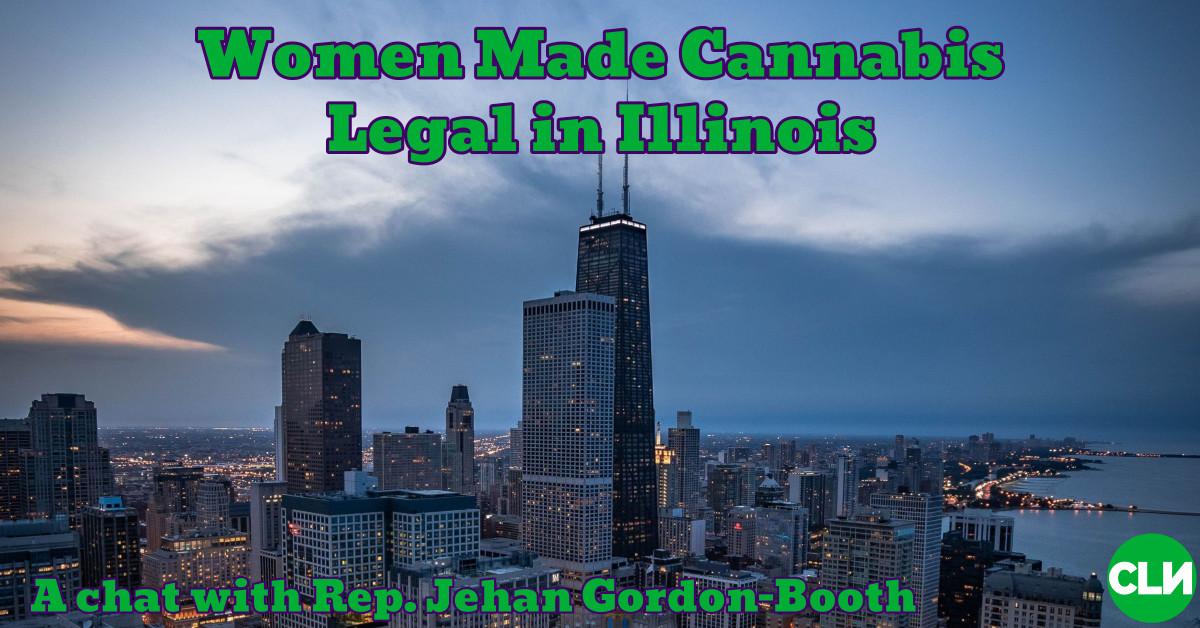 Ілінойс, легалізаваны рэкрэацыйным рэцэптарам канабіса Джэхан Гордан-Бут, законапраект 2020