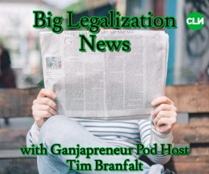 Ganjapreneur Podcast Host Tim Branfalt
