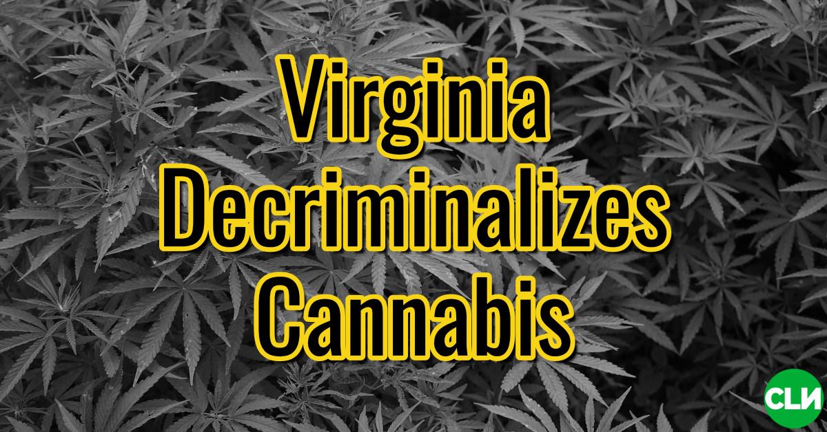Virginia despenaliza el cannabis