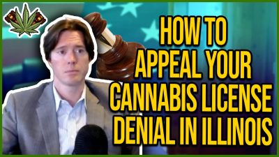 como apelar da licença de cannabis.