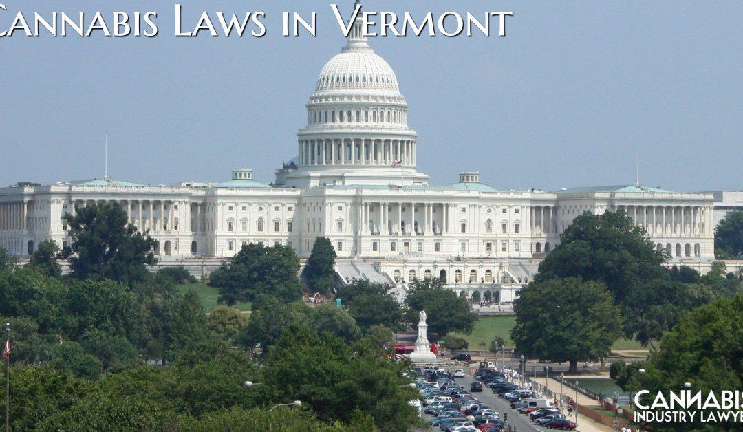 Законы аб каноплях у Вермонце