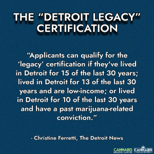 Detroit Legacy Marijuana Licenses