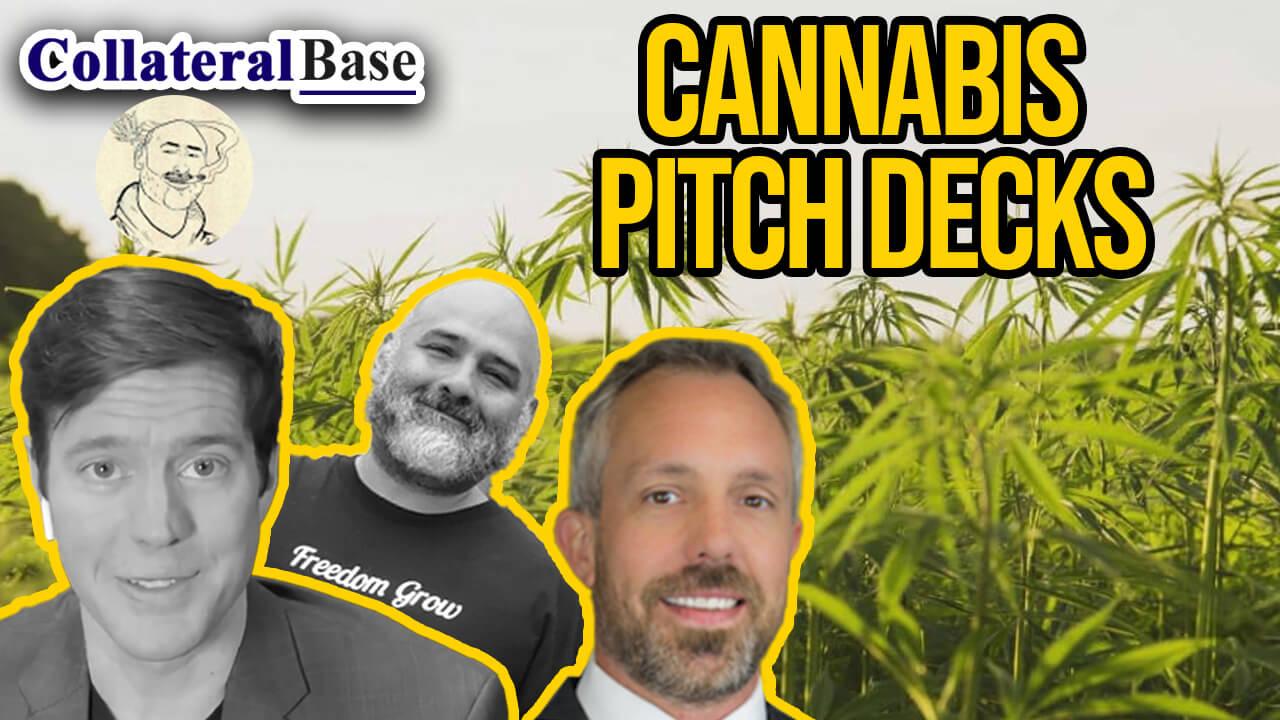 cannabis pitch decks
