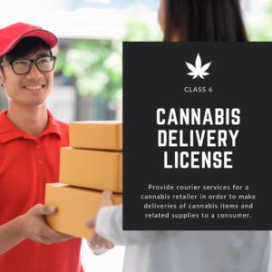 Licencia de entrega de cannabis de Nueva Jersey