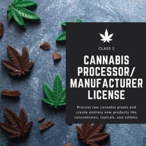 New Jersey Cannabis Manufacturer License